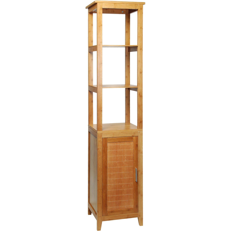 Eisl Koupelnová Skříňka Vysoká Bambus