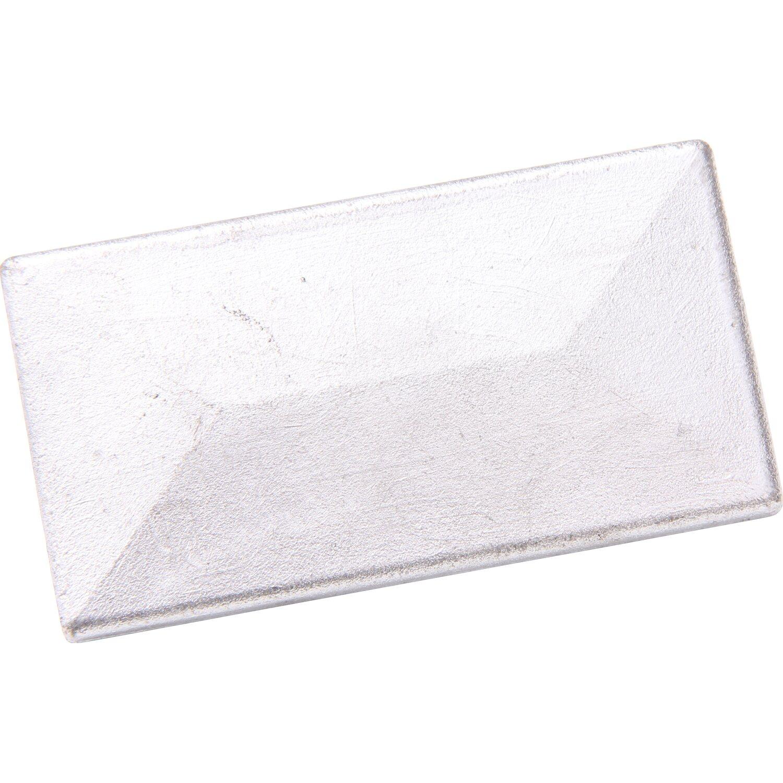 Krytka plotového sloupku s krycí lištou 60 x 40 mm stříbrná nakoupit ... 6042191b8d
