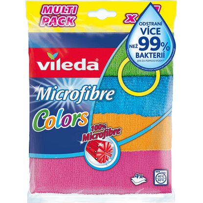 Vileda Mikrohadřík Colors 4 ks
