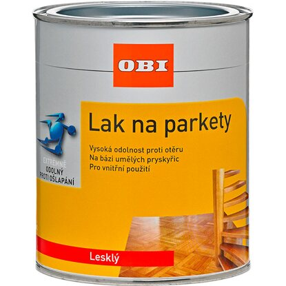 OBI Lak na parkety lesklý 750 ml