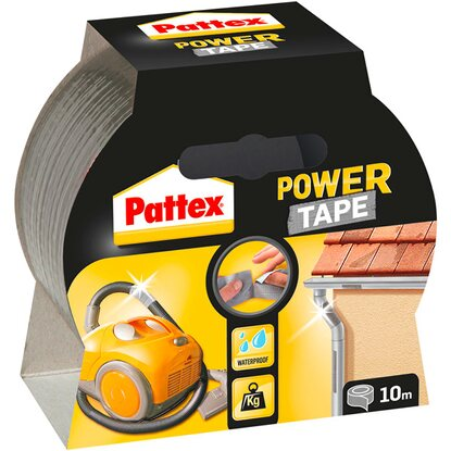 Pattex Lepicí páska Power Tape 10 m stříbrná