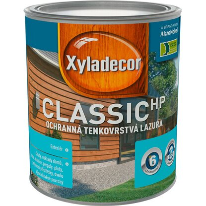 Xyladecor Classic HP ořech 0,75 l