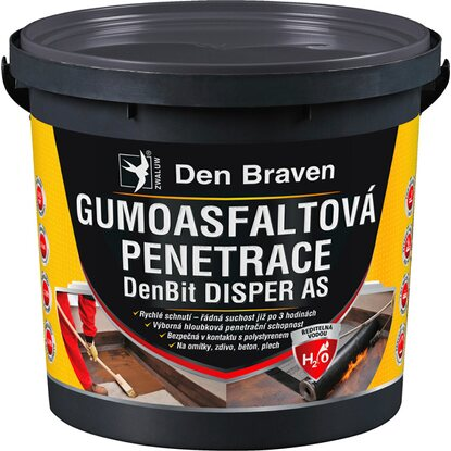 Den Braven Gumoasfaltová penetrace Disper AS 5 kg