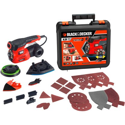 Black & Decker Bruska multi KA280K