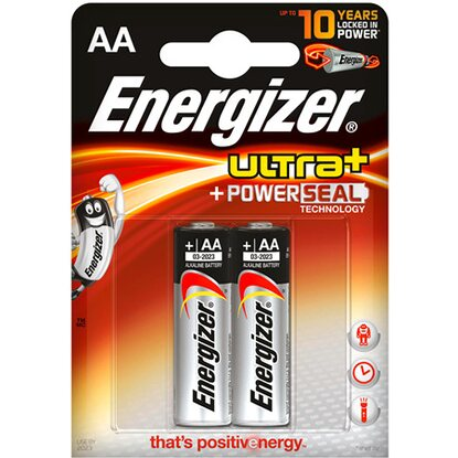 Energizer Baterie Ultra Power Seal AA, 2 ks