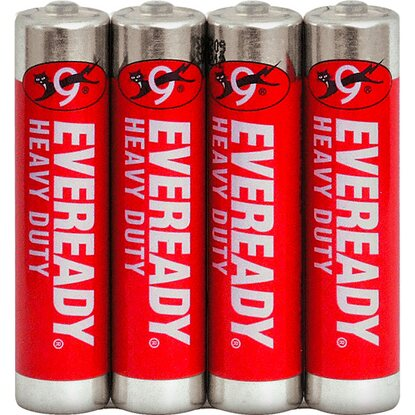 Eveready Baterie Heavy Duty AAA, 4 ks