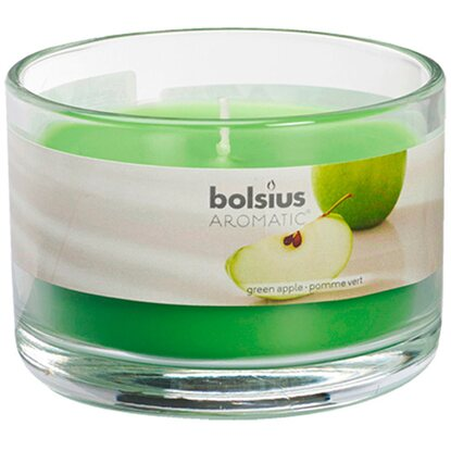 Bolsius Aromatic Vonná svíčka sklo green apple