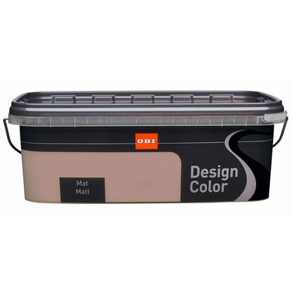 OBI Design Color mat Truffle 2,5 l
