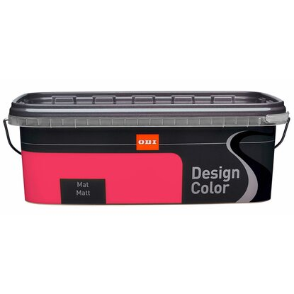 OBI Design Color mat Raspberry 2,5 l