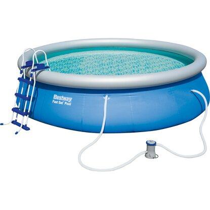 Bestway fast set pool 457 cm x 107 cm nakoupit u obi for Bestway obi