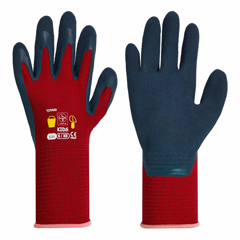 LUX Dětské rukavice červené nakoupit u OBI 2eb587b2ad