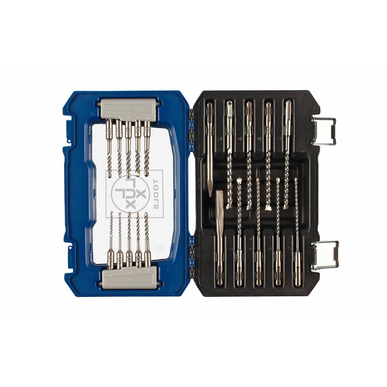 LUX Sada vrtáků a sekáčů SDS - Plus 20dílná nakoupit u OBI 371eafefd4