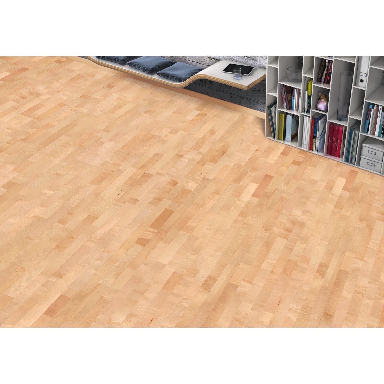 living by haro parketov podlaha javor sv tl klen nakoupit u obi. Black Bedroom Furniture Sets. Home Design Ideas