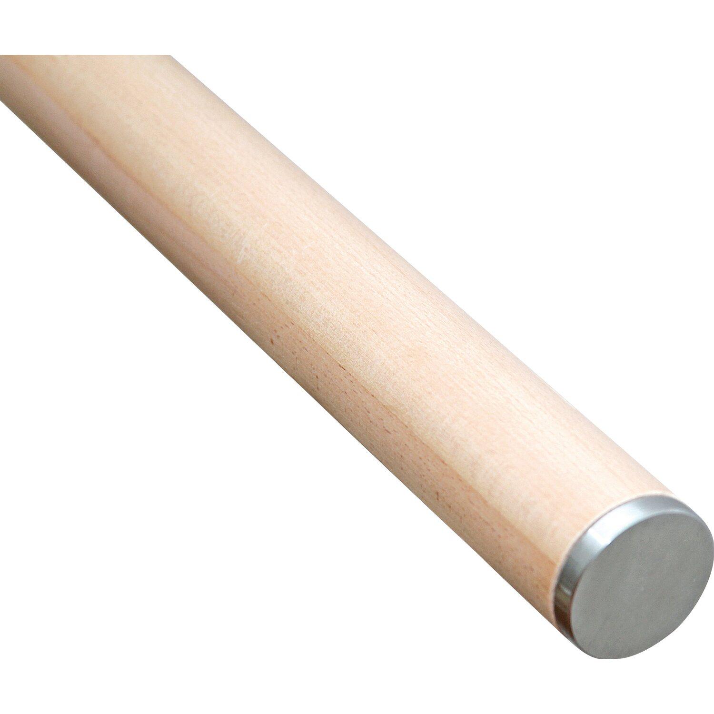 Koncová Krytka Nerezová Pro Dřevěná Zábradlí Průměr 52 Mm