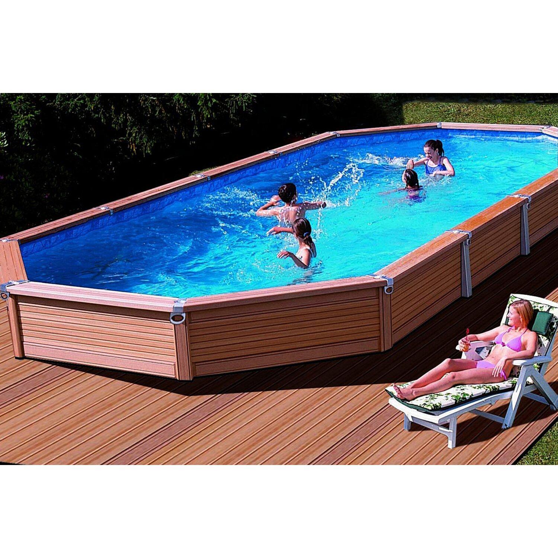 778acee776 Summer Fun Bazénová sada Azteck nadzemní oválný 400 x 560 x 140 cm ...