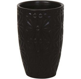 Kelímek na zubní kartáčky Venise keramický černý od OBI