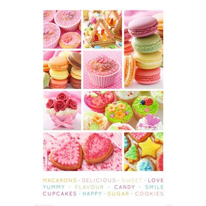 Maxiposter 61 cm x 91,5 cm Sweets
