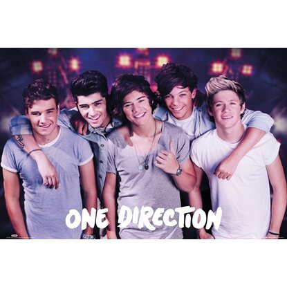 Maxiposter 61 cm x 91,5 cm One Direction - On stage