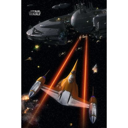 Maxiposter 61 cm x 91,5 cm Star Wars - Space battle