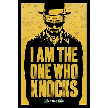 Maxiposter 61 cm x 91,5 cm Breaking Bad - I am the one who knocks