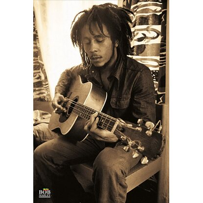 Maxiposter 61 cm x 91,5 cm Bob Marley - Early years
