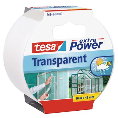 Tesa Extra Power 10 m x 48 mm transparentní