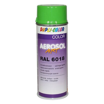 Dupli-Color Lak ve spreji Aerosol - Art žlutozelený 400 ml