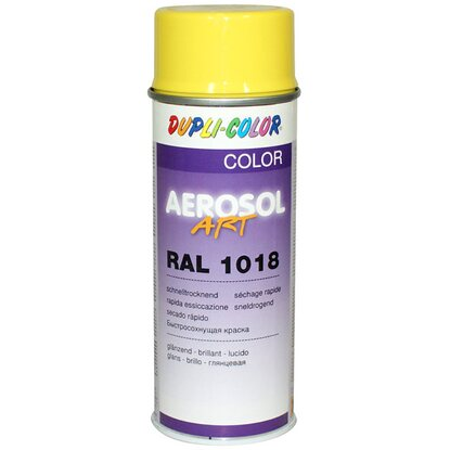Dupli-Color Lak ve spreji Aerosol-Art RAL 1018, zinkově žlutá, 400 ml