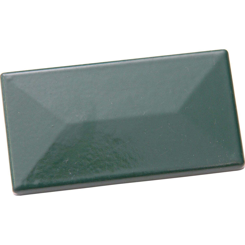 Krytka plotového sloupku s krycí lištou 60 x 40 mm zelená nakoupit u OBI fa55dbee51