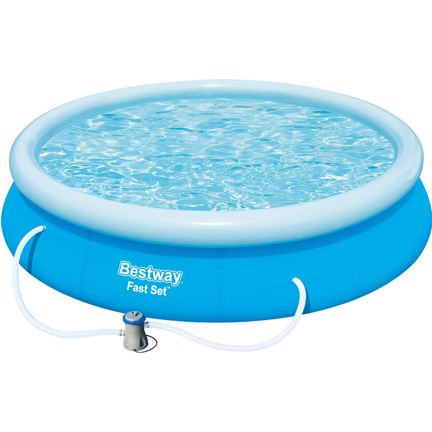 Bestway fast set pool baz nov sada 366 cm x 76 cm for Bestway pool obi