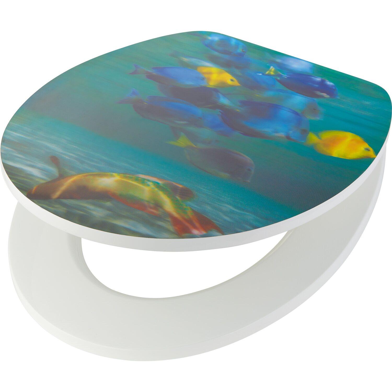 obi wc sed tko 3d motiv ryby nakoupit u obi. Black Bedroom Furniture Sets. Home Design Ideas