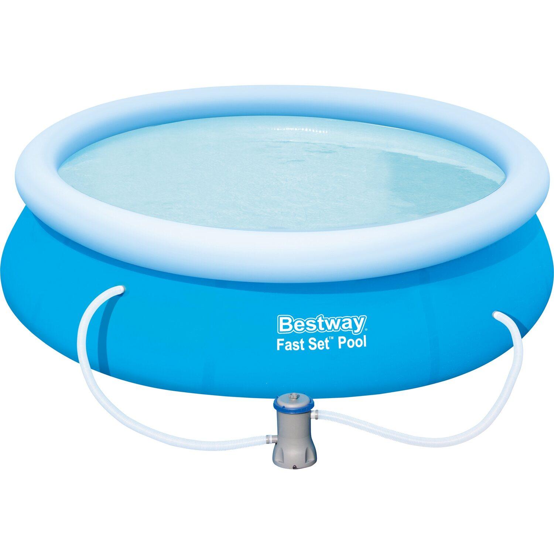 Bestway fast set pool baz nov sada 274 cm x 76 cm for Obi bestway pool